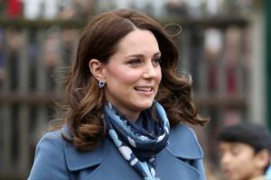 На фото Кэйт Миддлтон. 23 апреля у британского принца Уильяма и его супруги родился второй сын