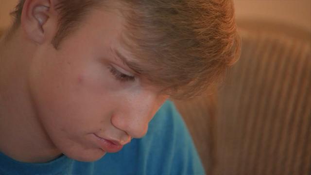 На фотографии Jared Shamburger. Юношу госпитализировали с диагнозом «рабдомиолиз»
