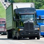 Количество водителей грузовиков находится на рекордно высоком уровне. На фото траки