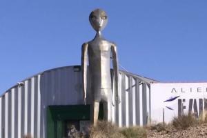 Инопланетянин на фото
