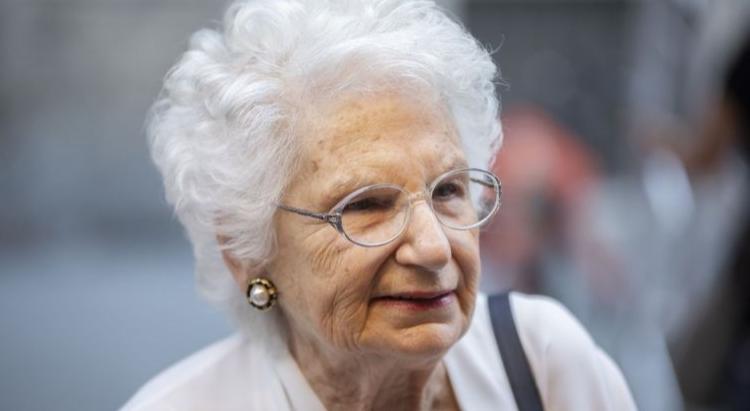 Пережившая Холокост итальянка находится под охраной из-за угроз расправы. На фотографии Лилиана Сегре
